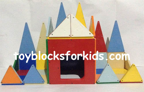 Simple blocks for kids and toddlers