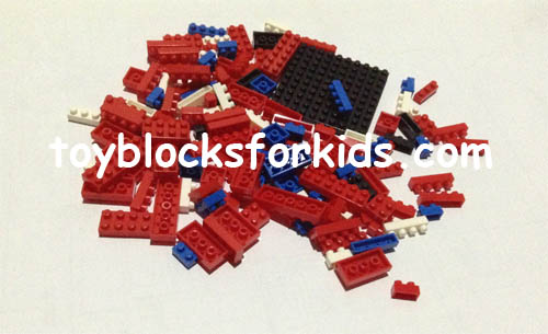 Parts of nano blocks