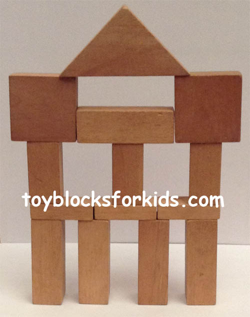 Standard unit blocks for kids