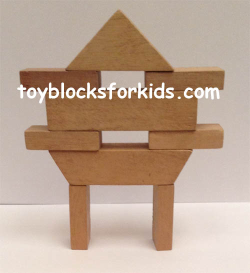 Blocks for kindergarten